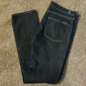 7 for all mankind Jean's size 28